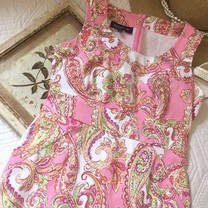 Beautiful Jones New York paisley dress